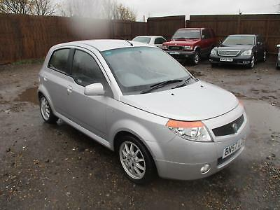 2007 Proton Savvy 1.2 Style Petrol Manual 5 Door Hatchback Silver Low Mileage