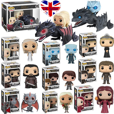 Funko Pop Game Of Thrones 8 Vinyl Figure Collectable Kids Toys Xmas Gift In Box
