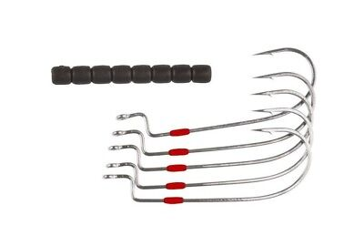 Mustad Ultrapoint Big Mouth Wide Gape Soft Plastic Worm Hook 38104NP-BN
