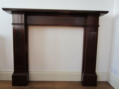 Vintage Solid mahogany  Fire Surround Modern in looks