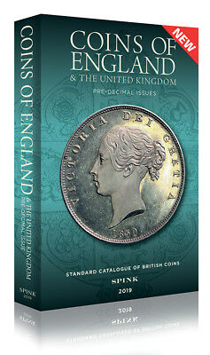 SPINK COINS OF ENGLAND 2019 HARDBACK **NOW IN STOCK** **FREE 1st class UK Post**