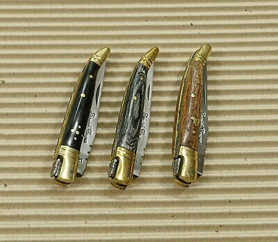 lot of 3 Laguiole Pocket Knife