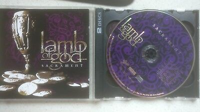 "Lamb Of God ""Sacrament"" +Metalcore+ CD+DVD"