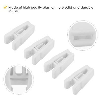 20pcs Convenient Plastic Laundry Clothes Racks Pins Hangers Spring Clamp Clips