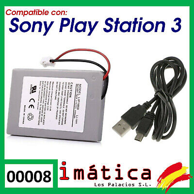 BATERIA PARA MANDO DE SONY PLAY STATION 3 LIP1859 LI-ION 1100mAh DUALSHOCK PS3