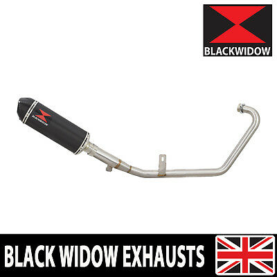 Yamaha YS125 2017-2019 Exhaust System Oval 300mm Carbon Fibre Silencer 300CT
