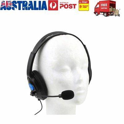 Wired Gaming Headset Headphones with Microphone MIC for PC Sony PS4 JU