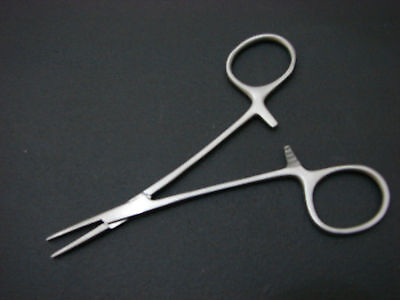 "Grooming*SMALL DOG Hemostat Hair Puller Forceps EAR*NEW 5"" #0987"