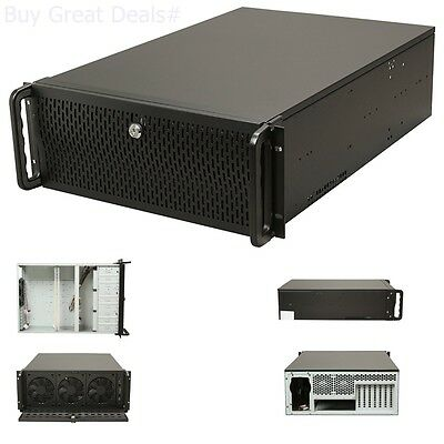 Rosewill Server Chassis/Server Case/Rackmount Case, 4U Metal Rack Mount Server
