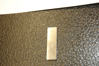 ".078125"" Starrett-Webber Croblox Gage Block  with certification"