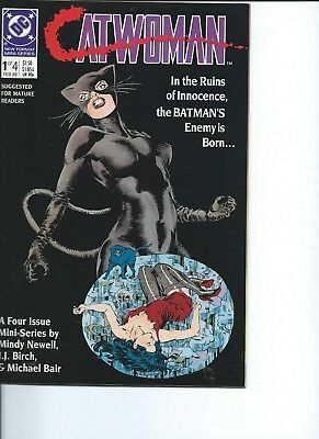 Catwoman #1 1989 Catwoman is Born Batman NM