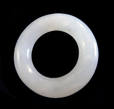 WHITE Jade RING ANTIQUE Chinese 18th/19th Century