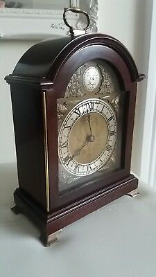 "Quality Elliott Of London Mantle Clock. Retailed By "" Garrard & Co Ltd London"""