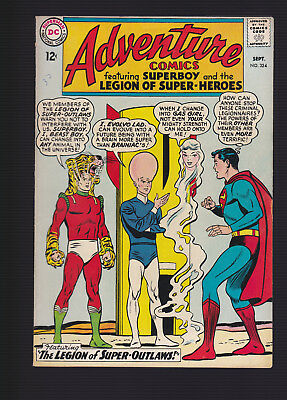 ADVENTURE COMICS #324 -- September 1964 -- F+