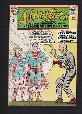 ADVENTURE COMICS #325 -- October 1964 -- Technical VG (F/VF Eye Appeal)