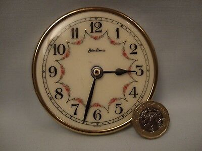 Vintage Bentima Clock Face for Spare Part.