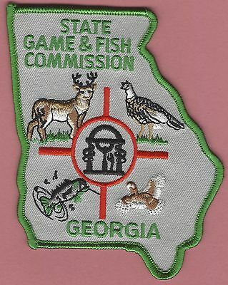 Georgia State Game & Fish Commission Enforcement Patch