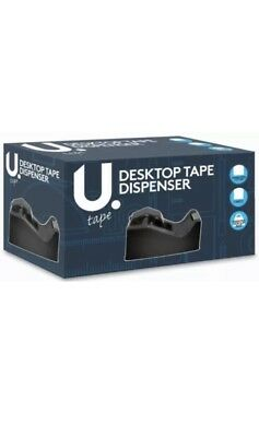 2 X Heavy Duty Tape/Cellotape dispenser for Desktop. Office Stationary.