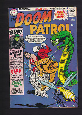 DOOM PATROL #99 -- 1965 -- 1st Appearance BEAST BOY / CHANGELING -- VF