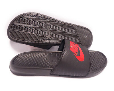 sale retailer 78ba4 ef783 343880-060 Nike Benassi JDI (Black   Challenge Red) Men Sandals