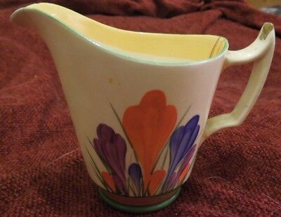Clarice Cliff Crocus Milk Jug