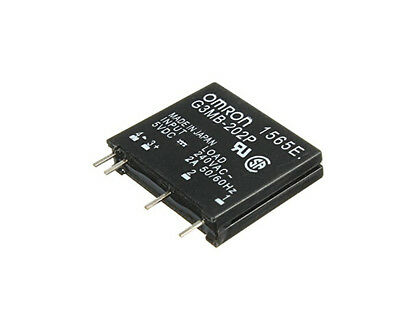 G3MB-202P-5VDC DC-AC PCB SSR In 5V DC Out 240V AC 2A Solid State Relay Ea