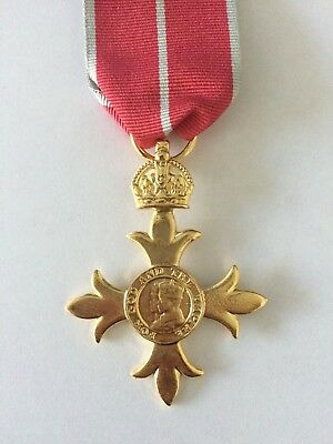 Full size Replica OBE (Order of the British Empire) Medal