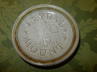 Vintage Rye Pottery Commemorative Rydal Mount Small Pin Dish