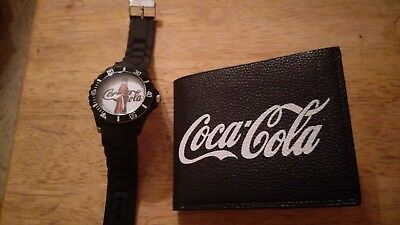Coca Cola Sports Watch and Men's Billfold