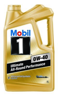 Mobil 1 0W-40 Full Synthetic Engine Oil 5L