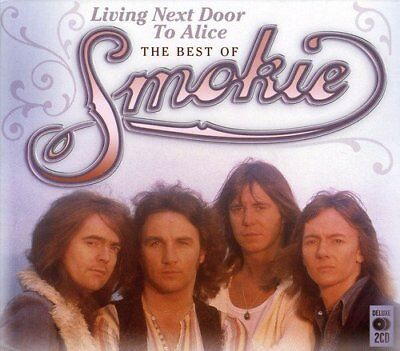 Smokie - Living Next Door To Alice - The Best Of / Greatest Hits 2CD NEW/SEALED