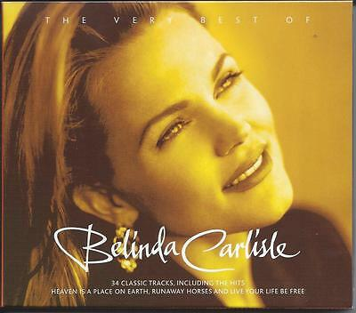 Belinda Carlisle - The Very Best Of - Greatest Hits 2CD NEW/SEALED