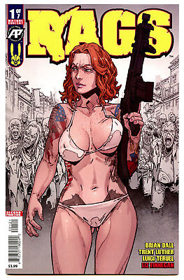 Rags #1 (2018) Antarctic Press VF/NM to NM 2nd Print