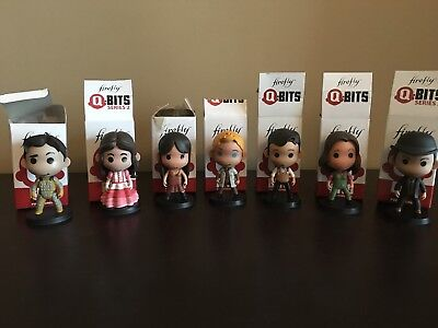 Firefly Loot Crate Q-bits Mini PVC Figures Collection, 7 Pieces