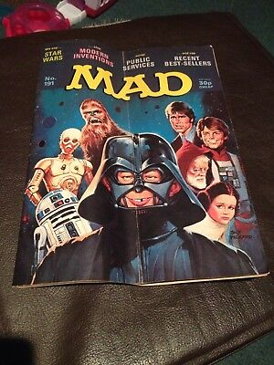 No. 191 MAD magazine Star Roars Star Wars