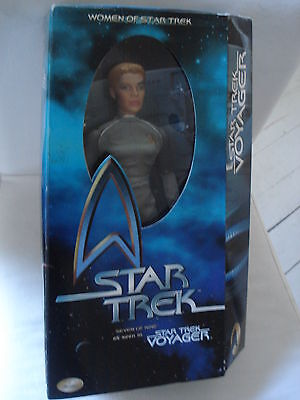 "STAR TREK 12"" Playmates Figur SEVEN OF NINE Star Trek VOYAGER *** OVP"