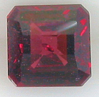 1.55ct EXTREMELY NATURAL RICH RASPBERRY RED RHODOLITE
