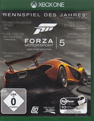 Forza Motorsport 5 - Game of the Year Edition (Xbox  One) In Box