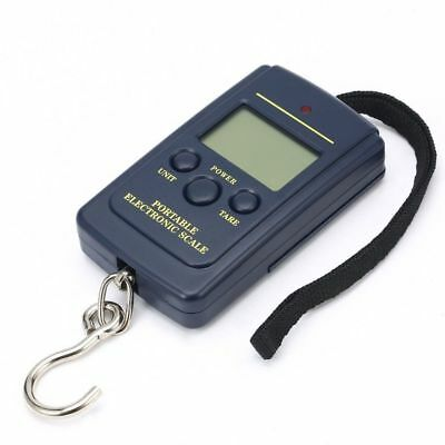 Digital Scales Luggage Scale Load 40Kg LCD Mini Protable Pocket Weighting Fishin