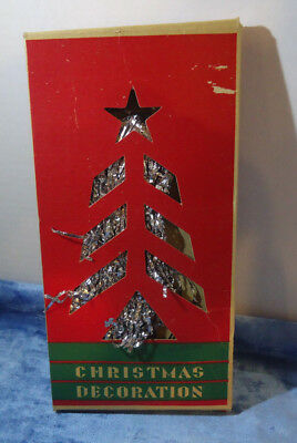 Vintage Icicles Decorate Ornament Christmas Tree  Tinsel