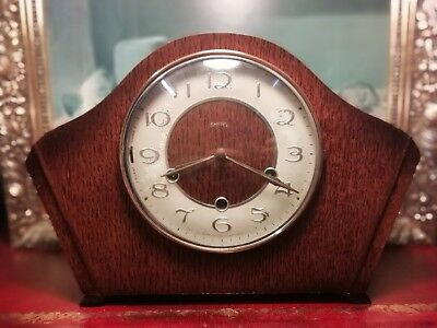 Vintage Smith's Westminster. Mantle Clock. Working order.