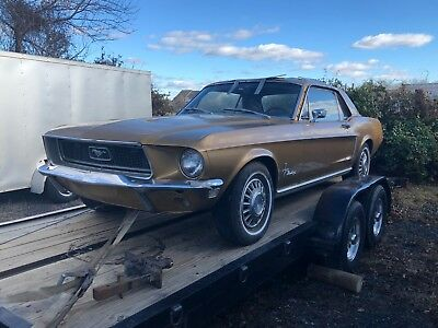 1968 Ford Mustang  1968 Ford Mustang, special order paint