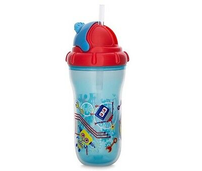 Nuby Insulated No-Spill Flip-It Cup **NEW $46.95** Baby Child Toddler Sipper