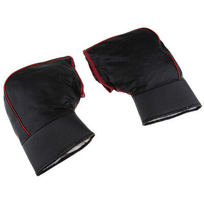 Pair Protective Handlebar Gloves Hand Warmer Muffs for Motorcycles Scooters