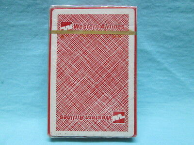 Western Airlines Playing Cards New Sealed