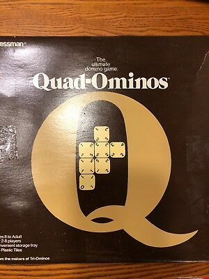 Vintage 70'S QUAD-OMINOS Game by Pressman Toy Corp. Full set