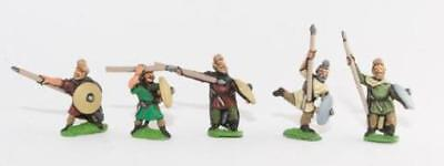 Essex Ancient French Mini Medium Infantry w/Spear, Axe and Shield Pack MINT