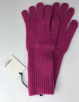 Gap Women's Gloves Wool Touch Screen Coral Pink One Size