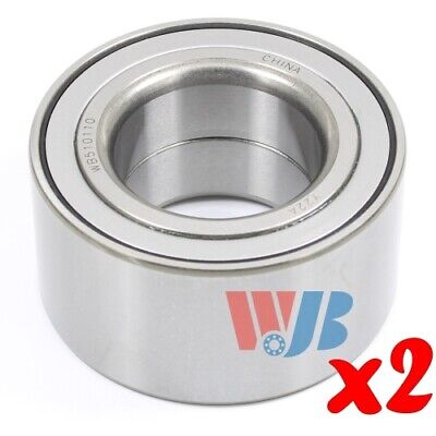 Pair of 2 New Front Wheel Bearing WJB WB510110 Cross 510110 WB000053 FW122