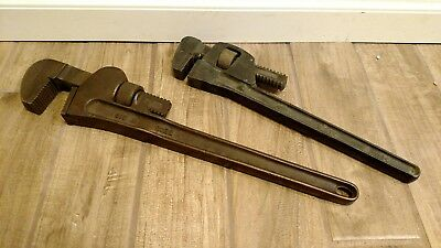 Berylco + Ampco Bronze non sparking Pipe Wrenches Plumbing Tools